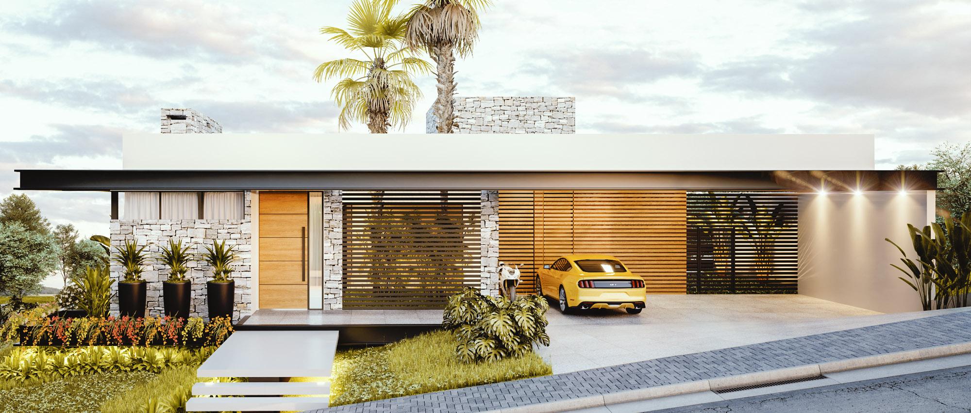 arquiteturafachada-projeto-3d-projeto-casa-engenhariamaquete-eletronicaapresentacao