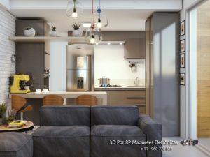 Confira cinco vantagens da aposta em projetos 3D para decoração de ambientes